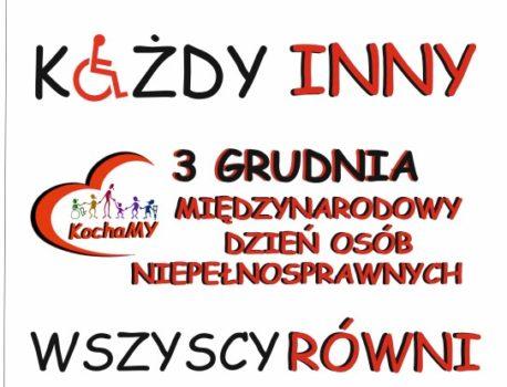 3.12 Międzynarodowy Dzień Osób Niepełnosprawnych