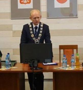 05.02.2020 spotkanie z Przewodniczącym Rady Miejskiej Markiem Ratajczakiem