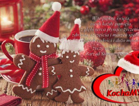 Życzenia Świąteczne Stowarzyszenia KochaMY!!!!