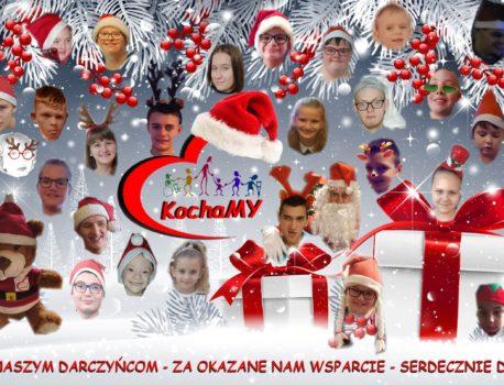 Podziękowania dla Darczyńców naszego Stowarzyszenia 2020rok !!!!